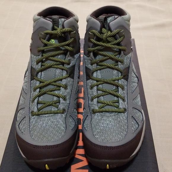 e76ad842cf26 Merrell Siren Sport Q2 Mid Waterproof Hiking Boots